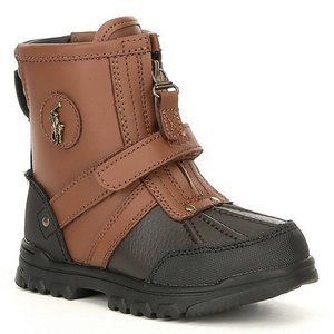 Baby Boys Brown & Black Conquered Hi Boots 5